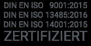 ISO Zertifikat Link